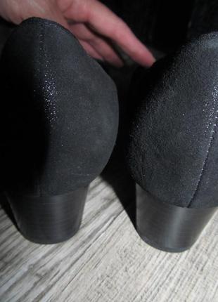 Кожаные туфли rebecca von lengfeld р. 37-23,5см5 фото
