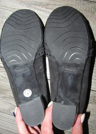 Кожаные туфли rebecca von lengfeld р. 37-23,5см4 фото