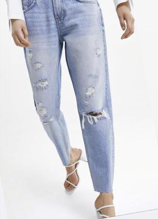 Новые джинсы из последней коллекции zara, размер 36.