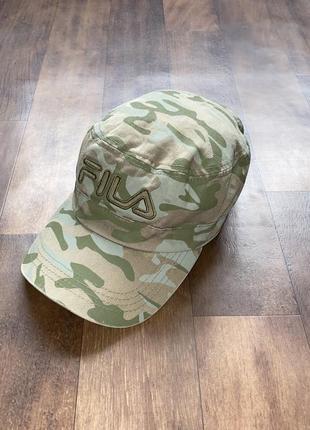 Камуфляжная мужская кепка fila оригинал