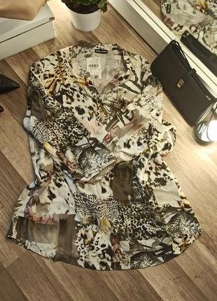 Шикарная блуза дорогого бренда gerry weber