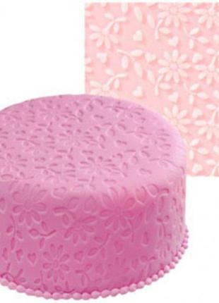 Силиконовый коврик для мастики