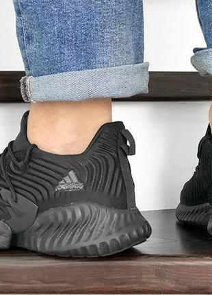 Летние мужские кроссовки adidas alphabounce instinct стрейч сетка текстиль2 фото