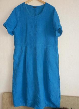 Легенда бохо oska. красивенное платье из тяжелого льна