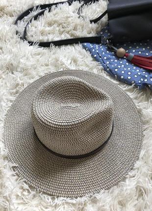 Stradivarius шляпа с широкими полями