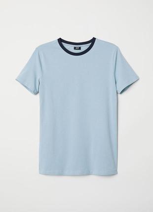 Мужская футболка muscle fit h&m, р. s