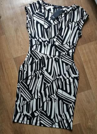Платье геометрия, сукня, сарафан, плаття