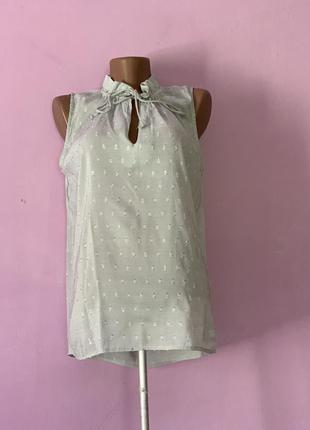 Милая блуза нежный цвет брендовая