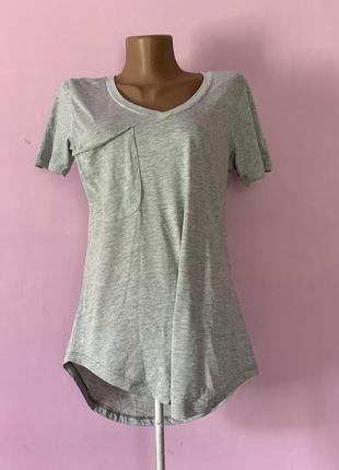 Базовая стильная футболка свободного кроя летняя новая с биркой распродажа