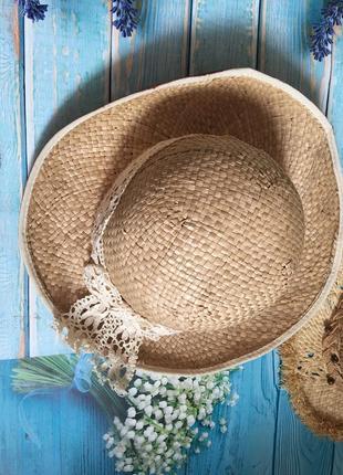 Шляпа соломенная,натуральная 👒