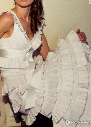 Потрясающее платье от татьяны каплун.