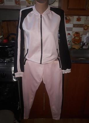 Яркий стильный спортивный костюм( штаны на замочках) firefly! размер s-m.