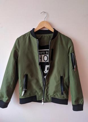 Бомбер курточка1 фото