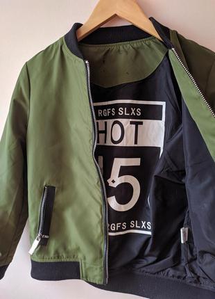 Бомбер курточка3 фото