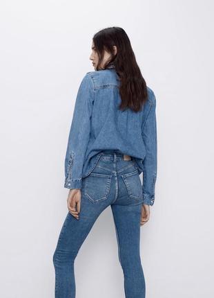 Джинсы скинни джинси скінні bershka бершка
