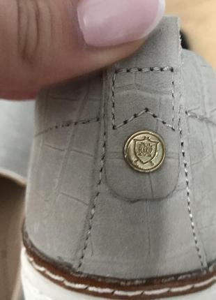 Слипоны, кеды кожаные massimo dutti5 фото