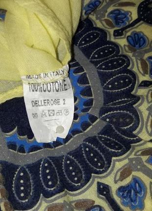 Удлиненная натуральная блузка/блуза/блузон/италия6 фото