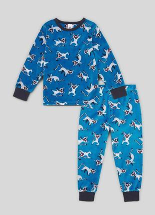 Детская пижама для мальчика 3-4 года c&a palomino германия размер 104