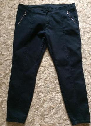 Коттоновые брюки большого размера