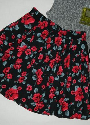 Роскошная юбка в цветы от tally weijl2 фото