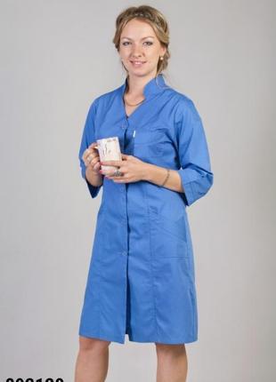 Халат медицинский, батист, р. 42-66; женская медицинская одежда, 892120