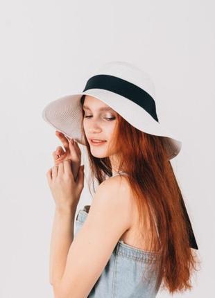 Шляпа женская широкополая