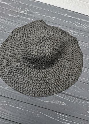 Красивая шляпа из соломки