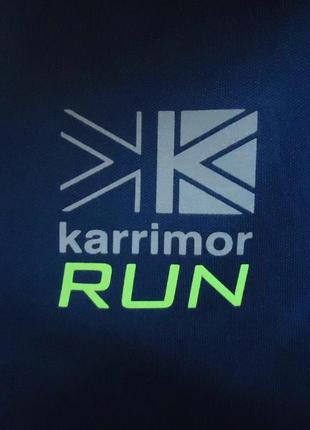 Лонгслив karrimor run x lite для бега и спорта (m)8 фото