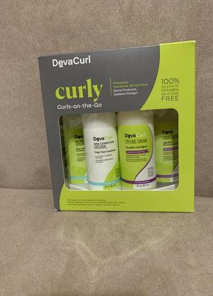 Набор devacurl {deva curl} для кудрявых волос2 фото