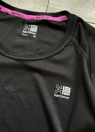 Костюм спортивный комплект футболка капри karrimor run m-l3 фото