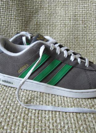 Adidas neo label р.40 кросівки замша