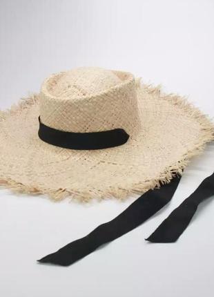 Плетённая пляжная соломенная шляпа хит 2020