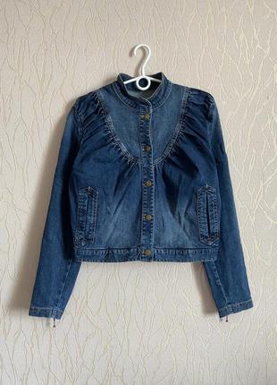 Baum und pferdgarten куртка дизайнерская джинсовая в романтическом стиле