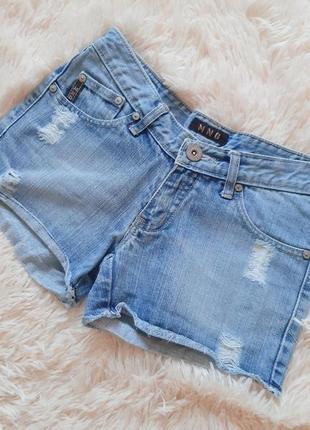 Стильные джинсовые шорты от mango
