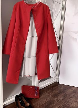 Пальто классическое под пояс❤️