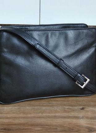 Кожаная сумка кроссбоди мессенджер hotter / шкіряна сумка