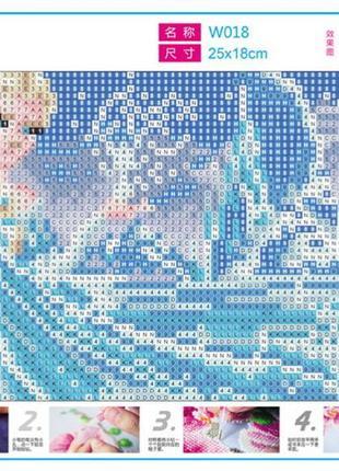 Набор 5d картина со стразами алмазная вышивка эльза2 фото