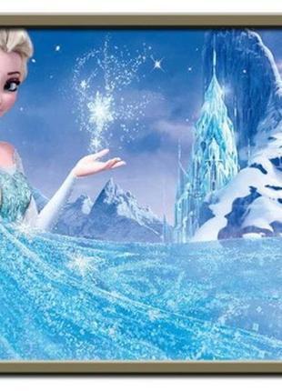 Набор 5d картина со стразами алмазная вышивка эльза1 фото