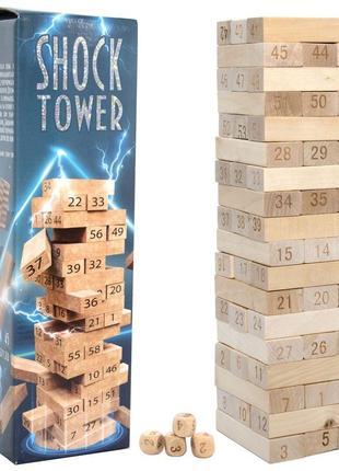Настольная игра shock tower шок товер