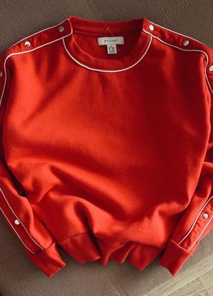 Красный свитшот primark