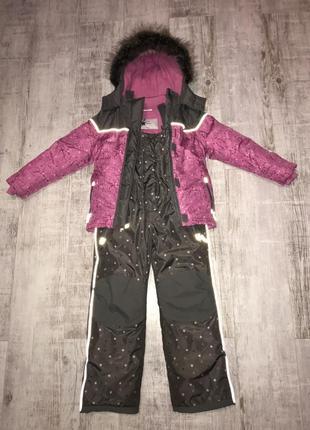 Детский зимний комплект для девочки topolino