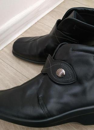Ботинки hotter р.39 кожа