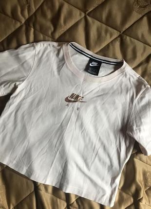 Новая футболка nike air (xs)