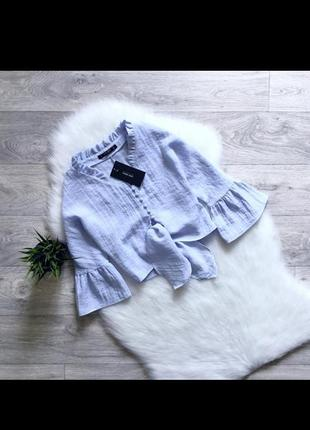 Укороченная блуза от zara