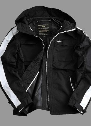 Мужская куртка ветровка alpha industries stormer m на s {48}