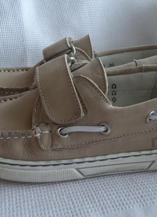 Кожаные туфли rap 30р.