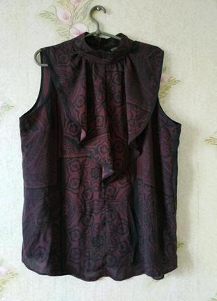 Новая розкошная нарядная блузка блуза next большого размера