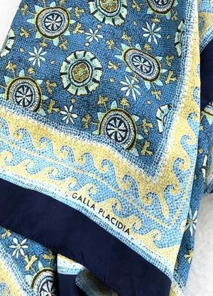 Коллекционный galla placida silk шарф 156х37