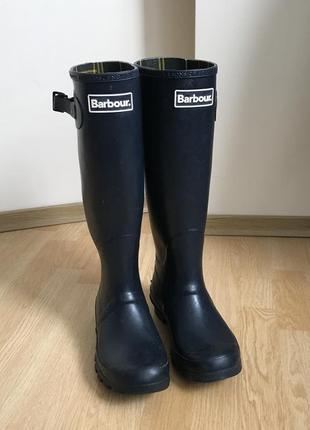 Barbour wellington boots резиновые сапожки 37 37.5 burberry