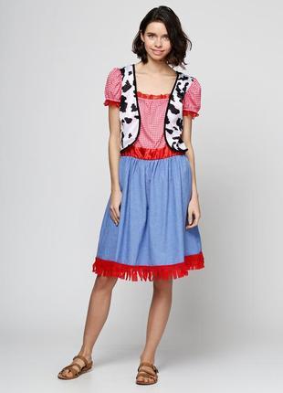 Арт. 012 платье halloween, маскарадный (карнавальный) костюм пастушка